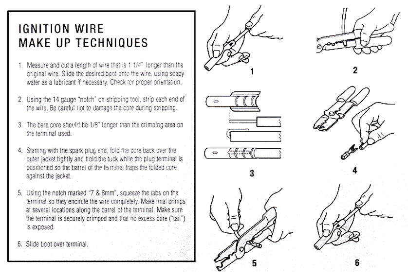 How to crimp plug wires